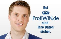 Bei Profiwin.de sind Ihre Daten sicher.